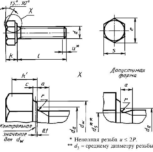 Болт ГОСТ Р 50793-95