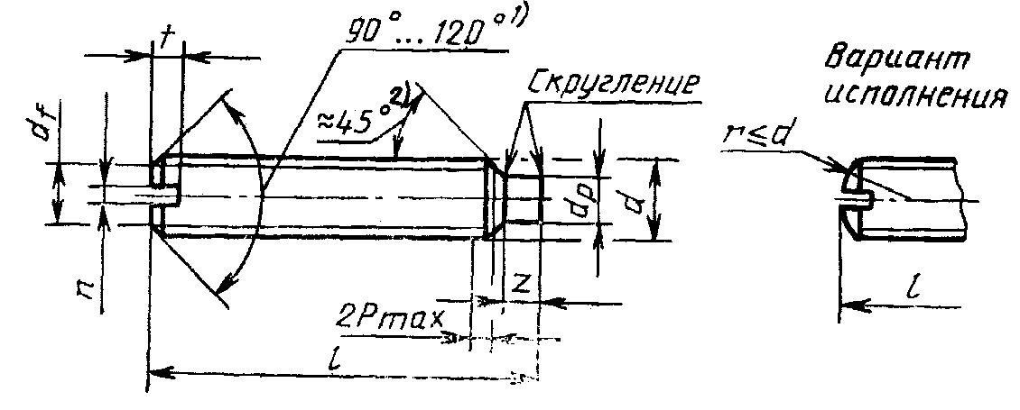 Винт ГОСТ 1478-93