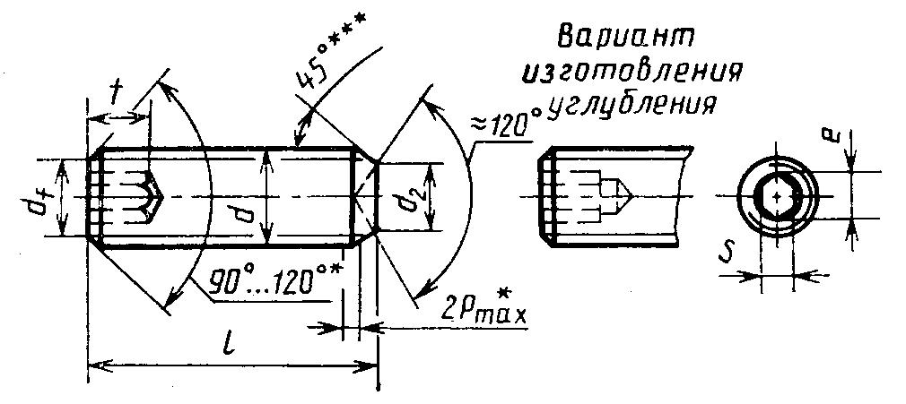 Винт ГОСТ 28964-91